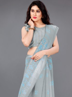 Printed Casual Traditional Saree