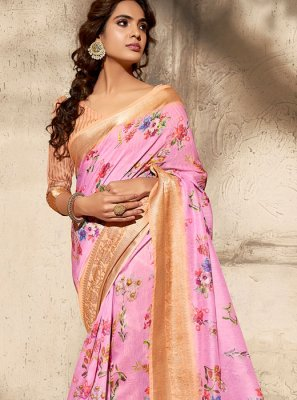 Printed Ceremonial Classic Saree