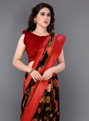 Printed Cotton Casual Saree