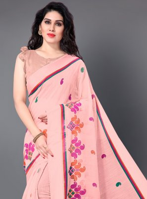 Printed Cotton Classic Saree