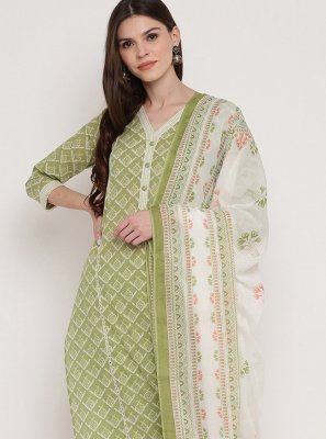 Printed Cotton Trendy Salwar Kameez