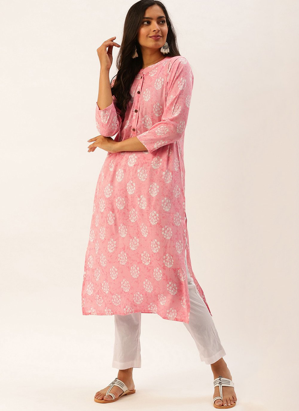 Printed Festival Party Wear Kurti