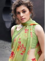 Printed Multi Colour Classic Saree