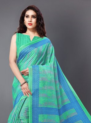 Printed Party Casual Saree