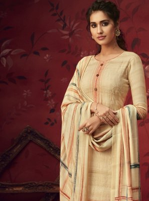 Printed Pashmina Salwar Suit
