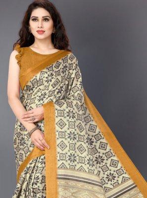Printed Printed Saree