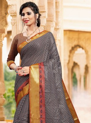 Printed Reception Classic Saree