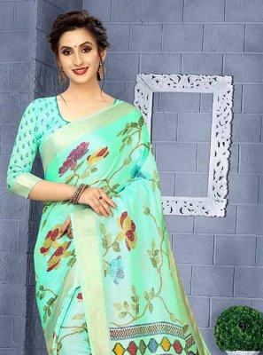 Printed Saree For Sangeet