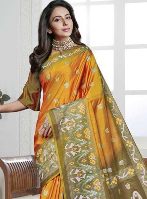 Printed Traditional Saree