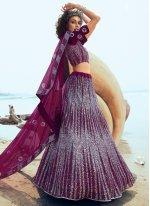 Purple Color Lehenga Choli