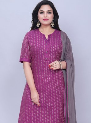 Purple Color Salwar Suit