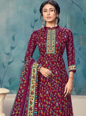 Purple Festival Trendy Salwar Suit