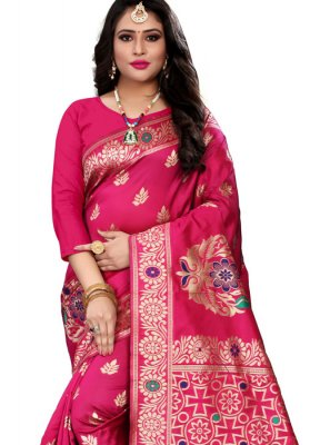 Rani Casual Traditional Saree