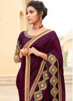 Rani Silk Ceremonial Contemporary Saree