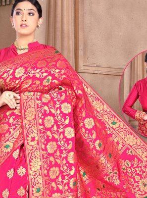 Rani Wedding Silk Classic Saree