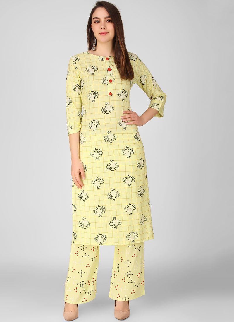 Rayon Sangeet Salwar Suit