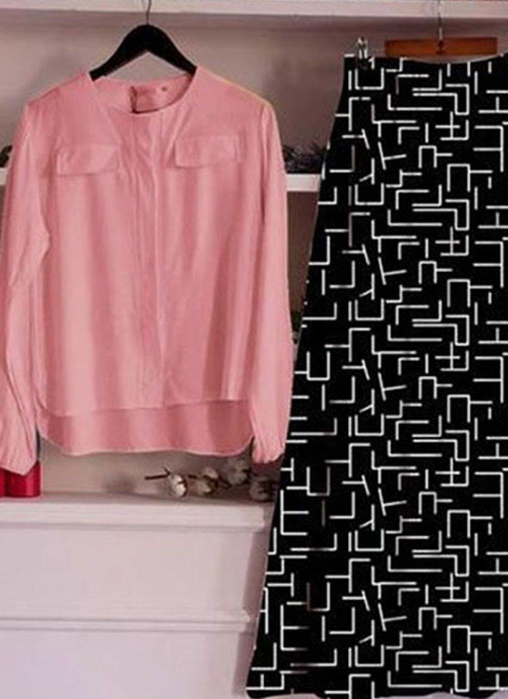 Rayon Trendy Lehenga Choli in Pink