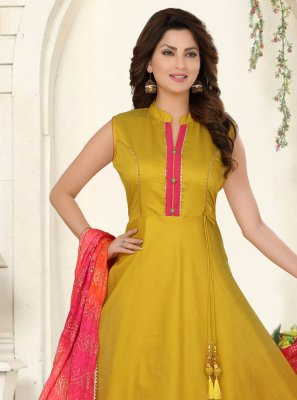Readymade Anarkali Salwar Suit For Reception