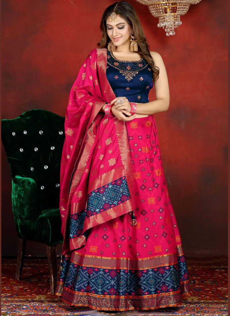 Readymade Lehenga Choli For Ceremonial