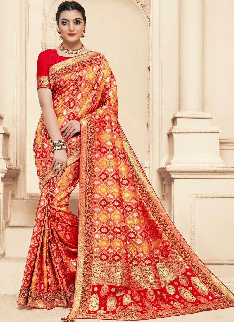 Red Bridal Designer Bridal Sarees
