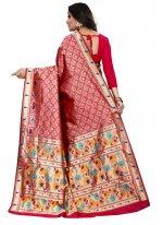 Red Classic Saree