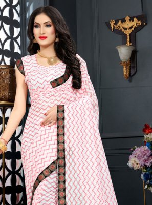 Red Jacquard Designer Saree