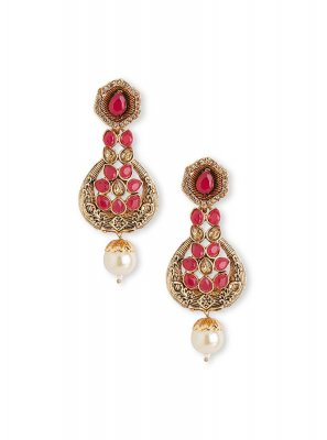 Red Party Ear Rings
