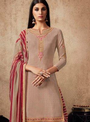 Resham Designer Patiala Suit