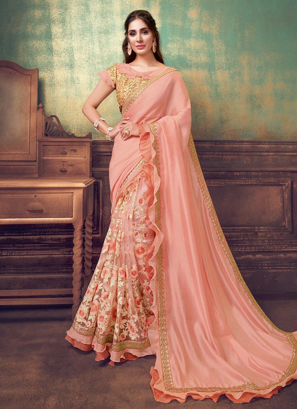 Resham Designer Saree