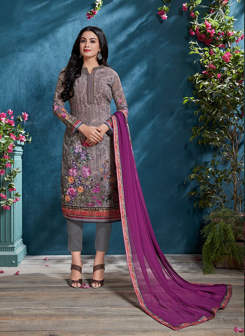 Resham Festival Churidar Designer Suit