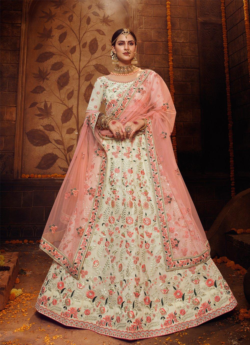 Resham Georgette Bollywood Lehenga Choli