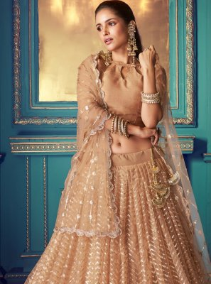 Resham Net Bollywood Lehenga Choli