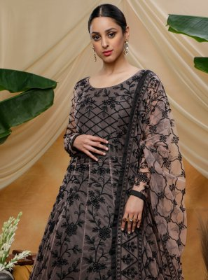 Resham Net Designer Gown