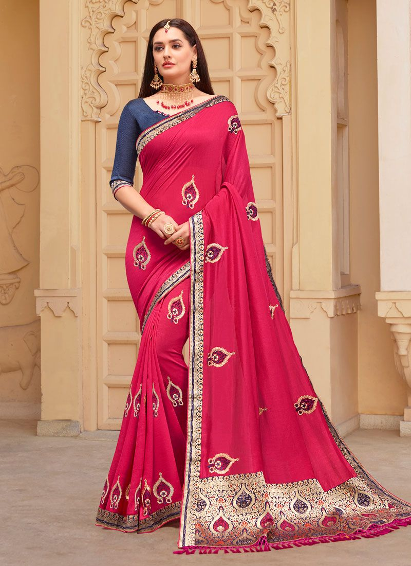 Resham Party Designer Saree