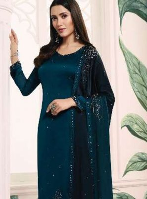 Resham Reception Churidar Salwar Kameez