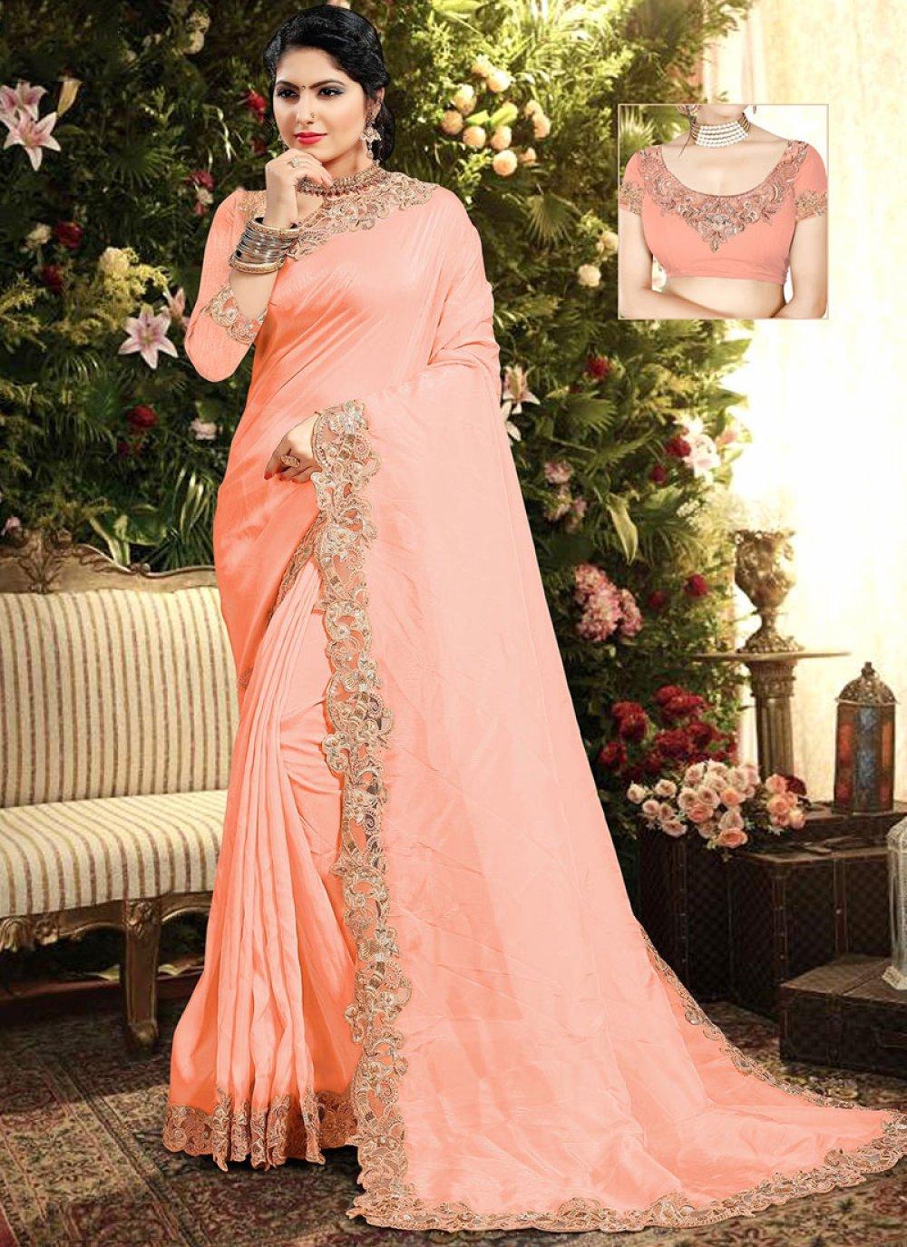 Resham Reception Classic Saree