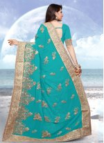 Resham Reception Designer Saree