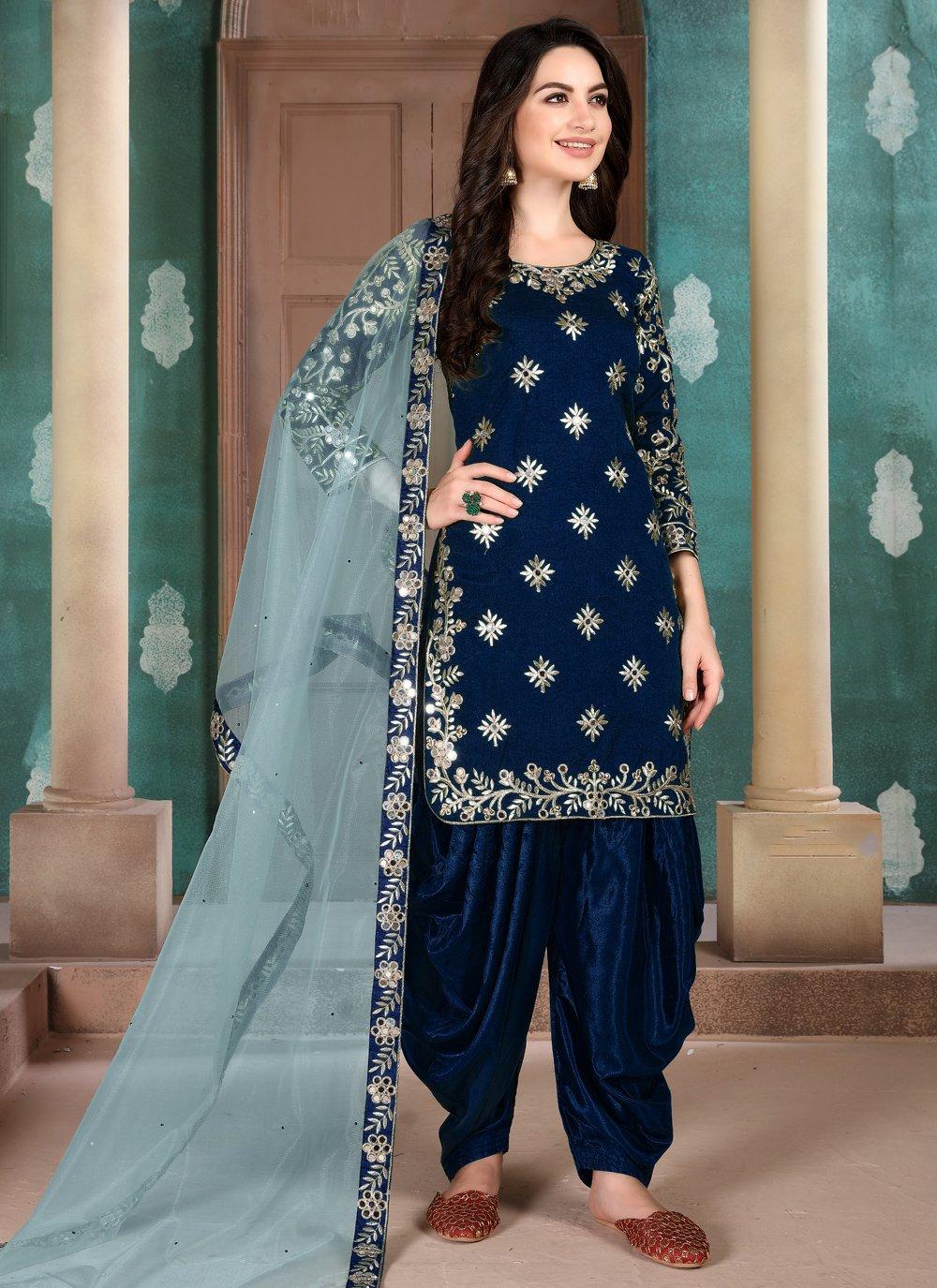 Resham Reception Salwar Suit