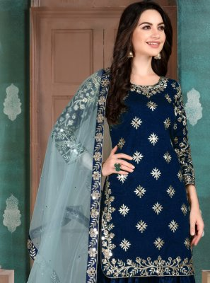 Resham Reception Salwar Suit