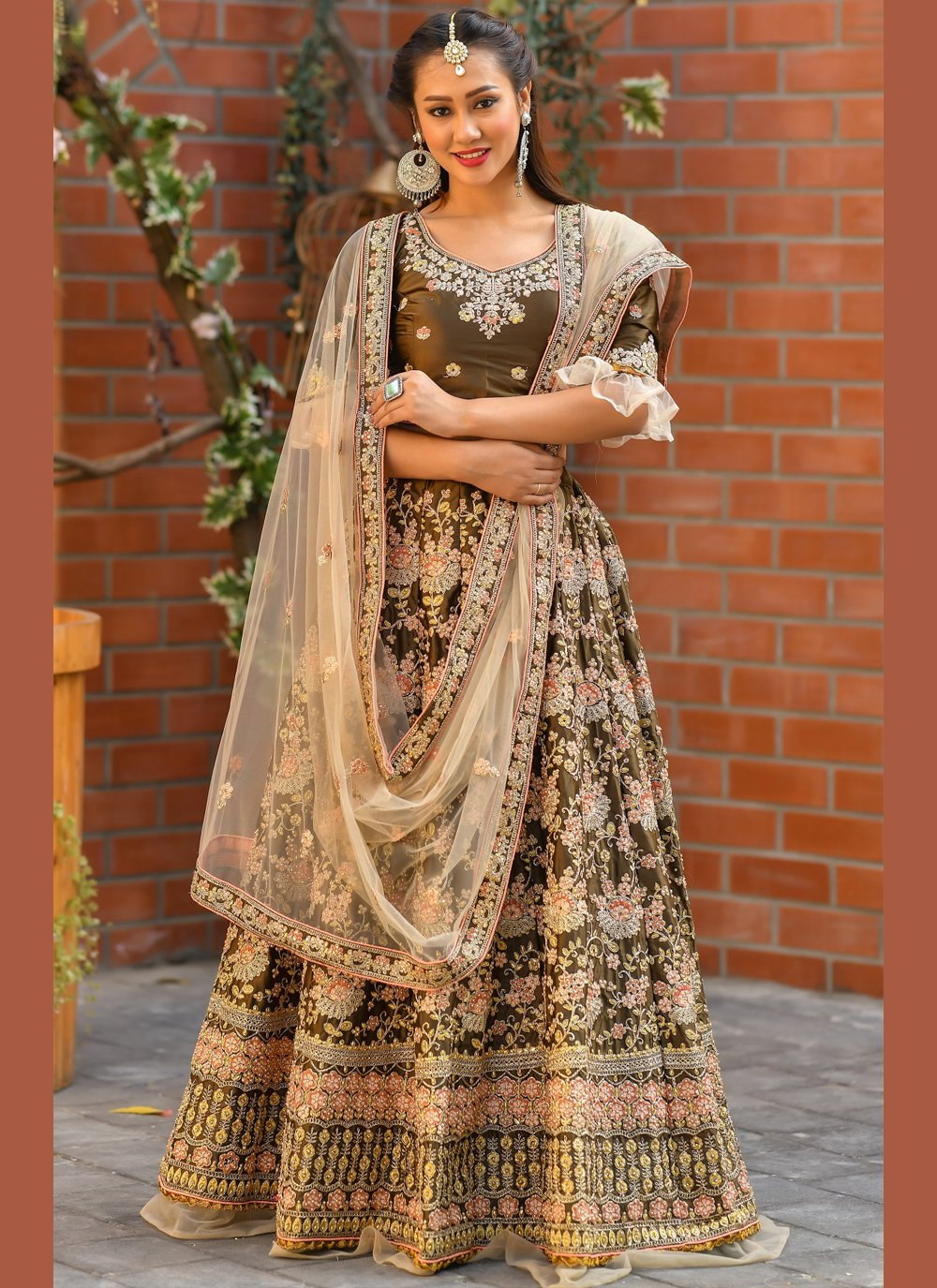Resham Trendy Lehenga Choli