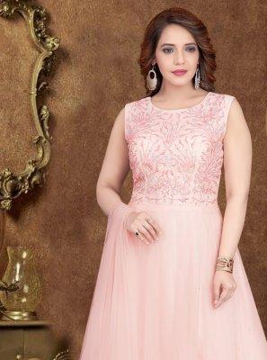 Rose Pink Designer Gown