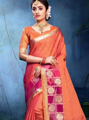 Saree For Mehndi