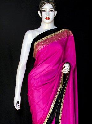 Satin Party Designer Saree
