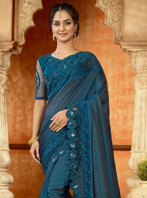 Satin Trendy Saree