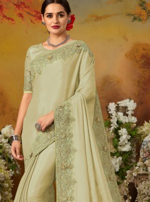 Sea Green Reception Classic Saree
