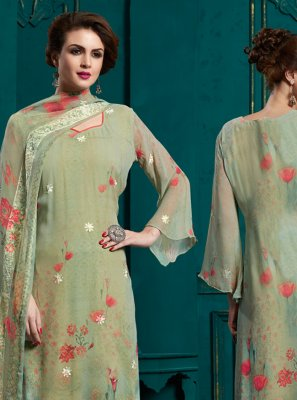 Sea Green Salwar Suit
