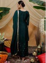 Sequins Ceremonial Palazzo Designer Salwar Suit