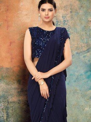 Sequins Wedding Contemporary Saree