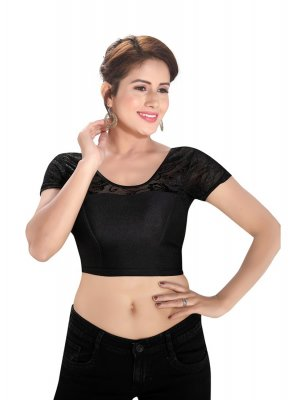 Shimmer Black Blouse