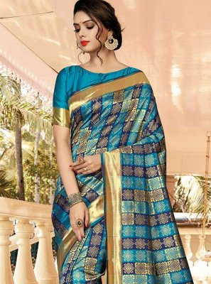 Silk Casual Traditional Saree